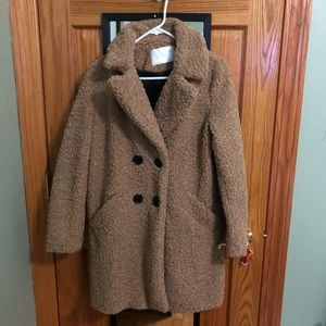 Oversized  women teddy coat